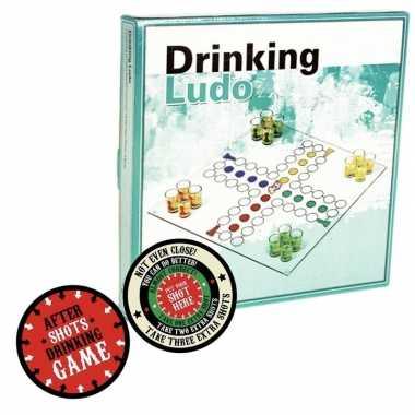 Goedkope drankspel/drinkspel ergernis bordspel after shots viltjes