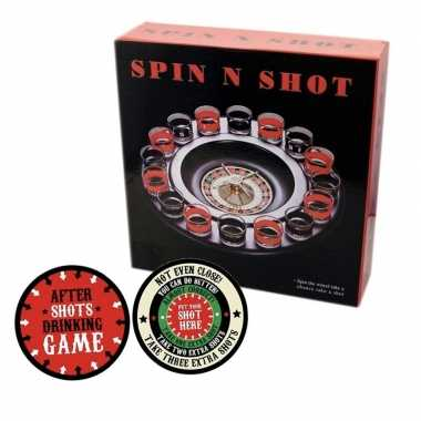 Goedkope drankspel/drinkspel shot roulette after shots viltjes