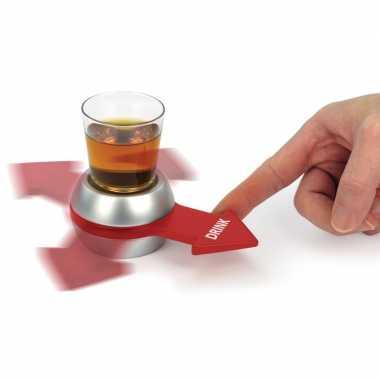 Goedkope drankspel/drinkspel shot spinner