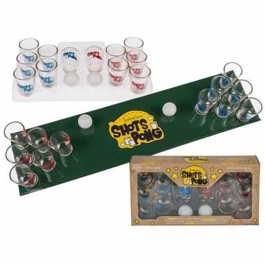 Goedkope drinkspel shotjes pong