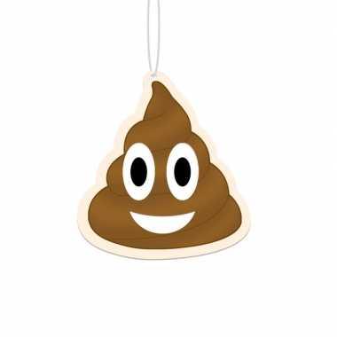 Goedkope drol emoji luchtverfrisser stuks