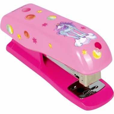 Goedkope eenhoorn nietmachine roze prinses lillifee