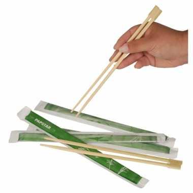 Goedkope eetstokjes bamboe hout stuks