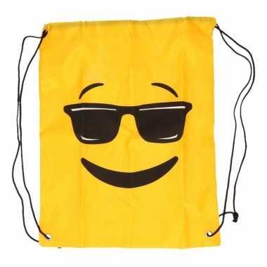 Goedkope emoticon gymtasje zonnebril