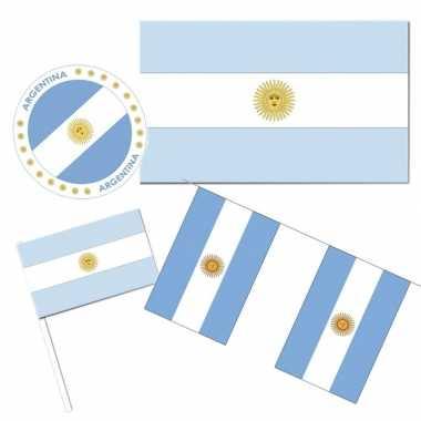 Goedkope feestartikelen argentinie versiering pakket