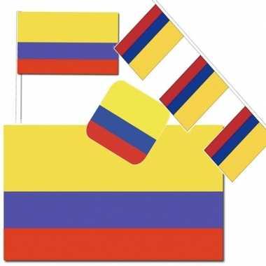 Goedkope feestartikelen colombia versiering pakket