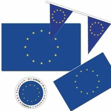 Goedkope feestartikelen europa versiering pakket