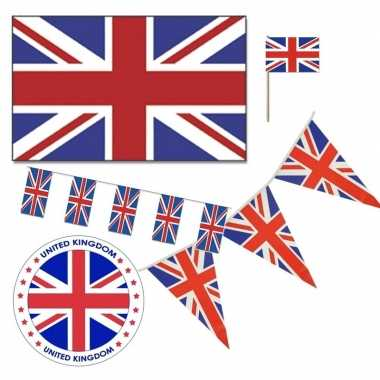 Goedkope feestartikelen groot brittannie versiering pakket