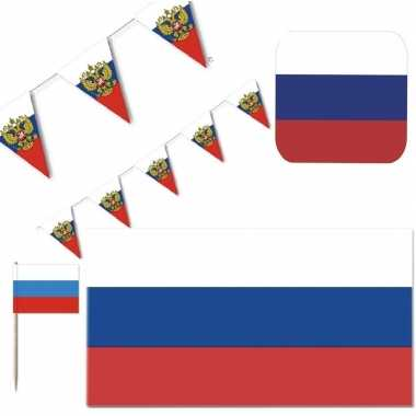 Goedkope feestartikelen rusland versiering pakket