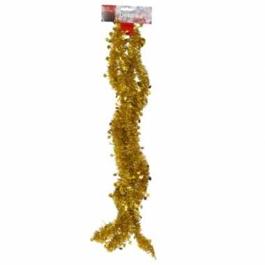 Goedkope feestslinger goud tinsel sterren versiering