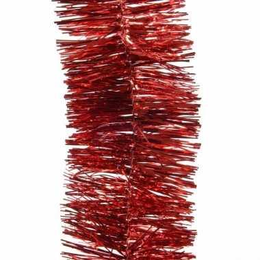Goedkope feestslinger rood folie