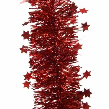 Goedkope feestslinger sterren rood