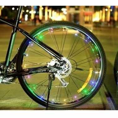 Goedkope fietsverlichting wieldecoratie led lichtslang