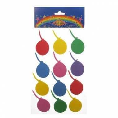 Goedkope foam stickers ballonnen