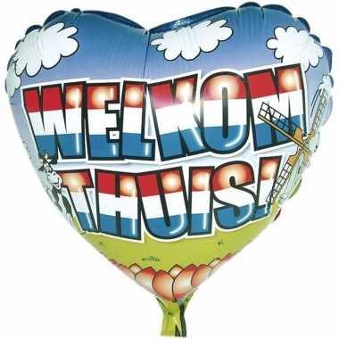 Goedkope folie ballon welkom thuis