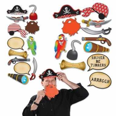 Goedkope foto prop set piraat