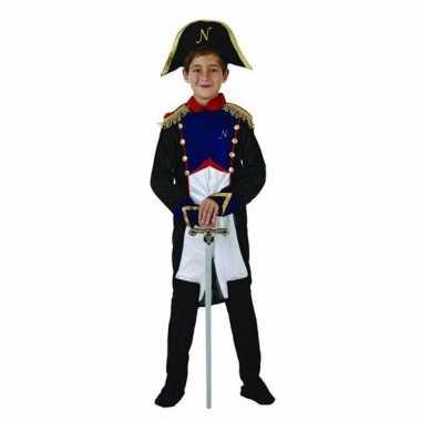 Goedkope franse generaal napoleon kostuum jongens