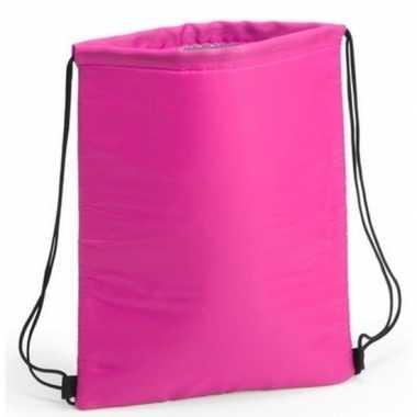 Goedkope fuchsia roze koeltas rugzak