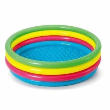 Goedkope gekleurd rond opblaasbaar zwembad kinderen