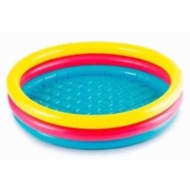Goedkope gekleurd rond opblaasbaar zwembad klein baby/kinderen