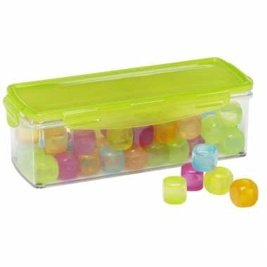 Goedkope gekleurde herbruikbare ijsblokjes box