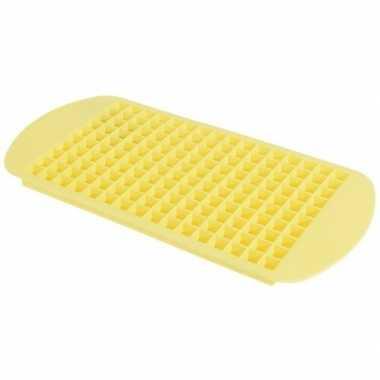 Goedkope gele mini ijsblokjes maker