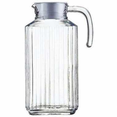 Goedkope glazen koelkast schenkkan dop , l