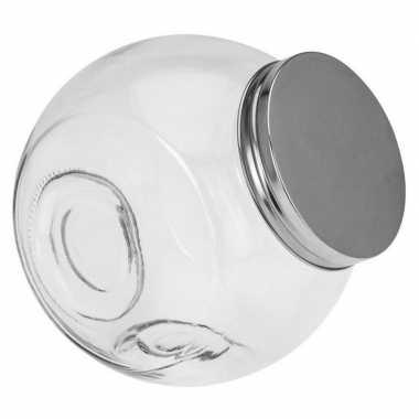 Goedkope glazen voorraadpot/snoeppot