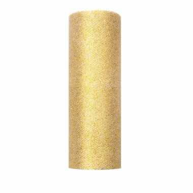 Wonderlijk Goedkope glitter tule stof goud breed | Goedkope.info DJ-23