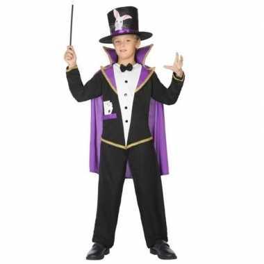 Goedkope goochelaar verkleed pak/kostuum kinderen