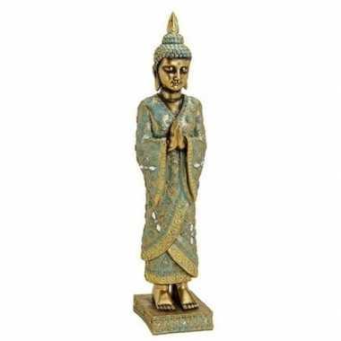 Goedkope goud boeddha beeld staand