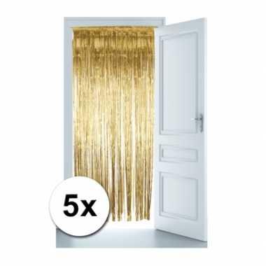 Goedkope gouden deur gordijnen x | Goedkope.info