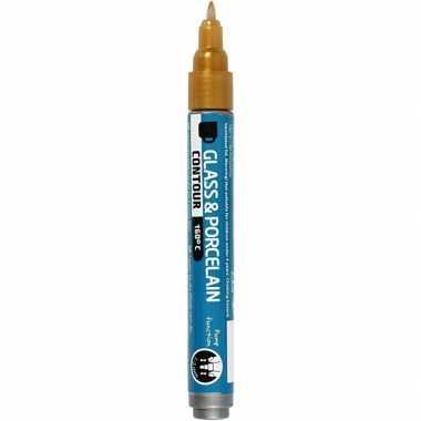 Goedkope gouden glasstift/porseleinstift mm