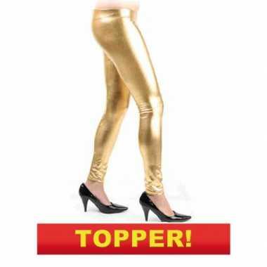 Goedkope gouden legging