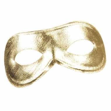 Goedkope gouden metallic oogmasker dames