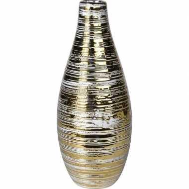Goedkope gouden vaas keramiek