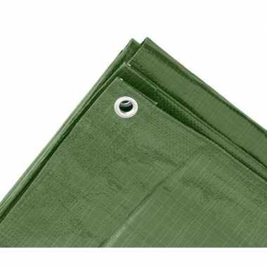 Goedkope groen afdekzeil / dekzeil meter