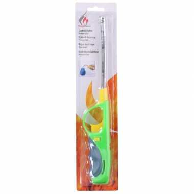 Goedkope groen/gele gasaansteker flexibel