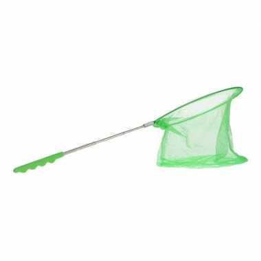 Goedkope groen uitschuifbaar visnet/vlindernet