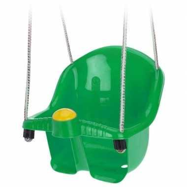 Goedkope groene peuterschommel touw