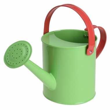 Goedkope groene stalen speelgoed gieter kinderen