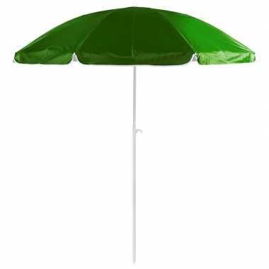 Goedkope groene strand parasol nylon