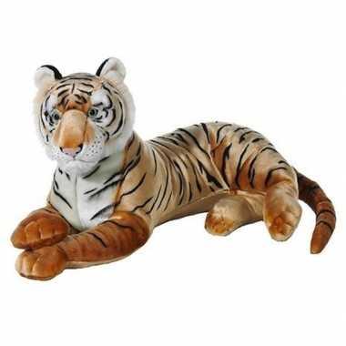 Goedkope grote bruine pluche tijger knuffel