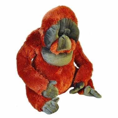 Goedkope grote pluche aap orang oetan knuffel