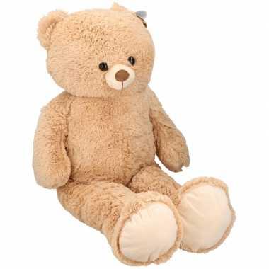Goedkope grote pluche beer/beren knuffel cm