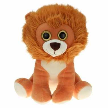 Goedkope grote pluche leeuwen knuffel zittend