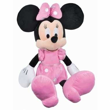 Goedkope grote pluche minnie mouse knuffel