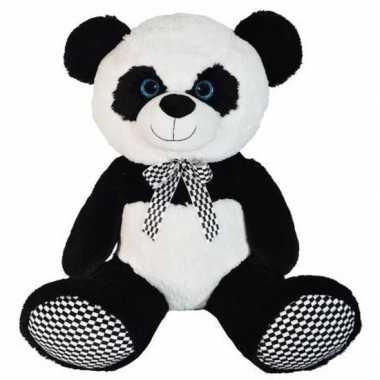 Goedkope grote pluche panda beer knuffel dier
