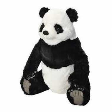 Goedkope grote pluche panda knuffel