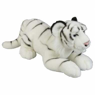 Goedkope grote pluche witte tijger knuffel speelgoed